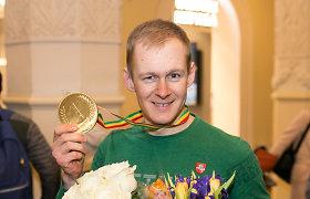 """Olimpiečių kritikams atsikirtęs Tomas Kaukėnas: """"Aš dar garsinsiu Lietuvą"""""""