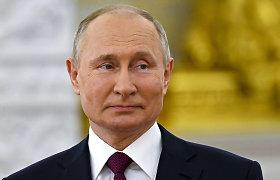 V.Putinas atmeta kaltinimus Maskvai dėl kibernetinių atakų prieš JAV