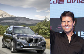 Birmingame vykstant filmavimams pavogtas prabangus Tomo Cruise'o BMW