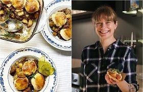 """""""Bulvių košės"""" receptas Velykoms: ėrienos troškinys, apkeptas su sviestinės tešlos sausainiais"""