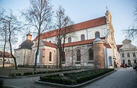 """Skandalo dėl """"7 fridays"""" supurtytas Vilniaus pranciškonų vienuolynas ruošiasi šventinimui"""