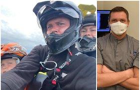 Traumos nuo motociklų neatbaidė ir nukreipė pasirinkti profesiją – Paulius tapo ortopedu traumatologu