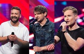 Muzikiniame TV projekte – vaikinų kova: dėl vietos finale kausis garsūs aktoriai ir sportininkai