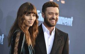 Justinas Timberlake'as ir Jessica Biel susilaukė antrosios atžalos: porai gimė sūnus