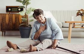 Vaistais malšino rankos skausmą, o pasirodė, jog skausmas buvo priešinfarktinės būklės požymis. Kaip neprisidaryti žalos vaistais?