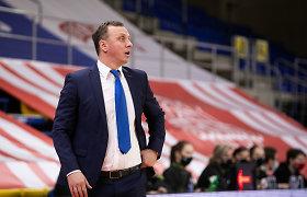 Lietuvos moterų krepšinio rinktinės treneris traukiasi jau matydamas įpėdinę