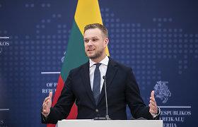 Su JAV verslo gigantais susitikęs G.Landsbergis: jie vertina Lietuvos politinę laikyseną