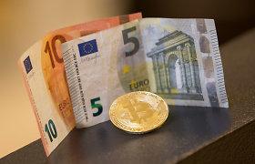 VMI realizavo konfiskuotą kriptovaliutą už 6,4 mln. eurų