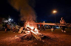 Kolumbijoje per antivyriausybinius protestus nuo balandžio galo žuvo 42 žmonės