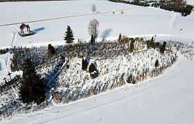 Pasigrožėkite: Kryžių kalnas, paskendęs sniego pusnyse