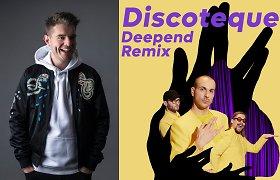 """""""The Roop"""" pristatė naują """"Discoteque"""" versiją: remiksą sukūrė žymus olandų didžėjus Deepend"""