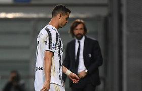 """""""Juventus"""" toliau mušasi dėl Čempionų lygos: pasiekė svarbią pergalę"""