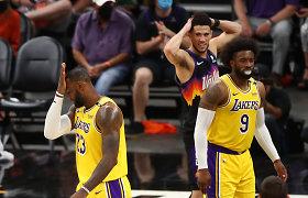 Saulės smūgis: sutriuškinti NBA čempionai atsidūrė ant prarajos krašto