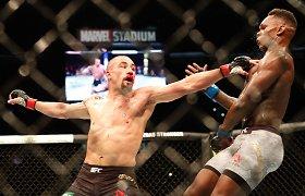 UFC narve retai pralaimintis britas mes iššūkį buvusiam pasaulio čempionui