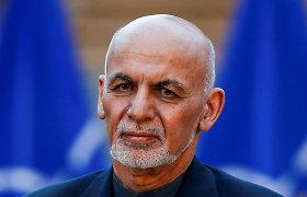 Afganistano prezidentas paleis iki 2 tūkst. Talibano kalinių