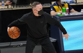 """Emocijos prasiveržė: """"Nuggets"""" treneris verkė kalbėdamas skaudžia tema"""