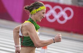 """Brigita Virbalytė finišavo aukščiau už mūsų vyrus: """"Vis kopiau į viršų"""""""