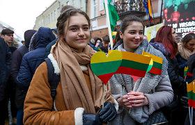 Vilnius švenčia nepriklausomybę: lietuviškų grupių koncertas, eitynės ir ekskursijos