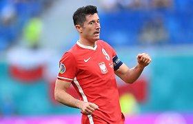 """R.Lewandowskio šou neišgelbėjo: Lenkijos žygis """"Euro 2020"""" – baigtas"""
