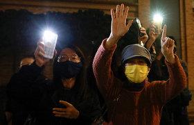 """ES grasina Kinijai """"papildomais žingsniais"""" dėl Honkongo"""