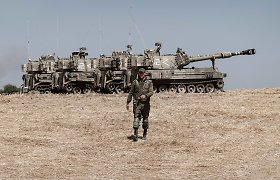 """Izraelis: karinės eskalacijos su Libanu nenorima, bet šalis jai """"pasiruošusi"""""""
