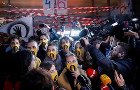 Budapešto universitetą užėmusiems studentams nurodyta palikti patalpas