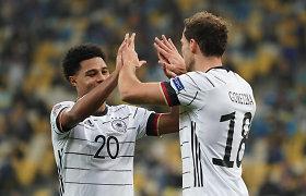 UEFA Tautų lygoje – vokiečių ir ispanų pergalės