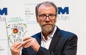 """""""Man Booker"""" literatūros premija skirta amerikiečiui George'ui Saundersui"""