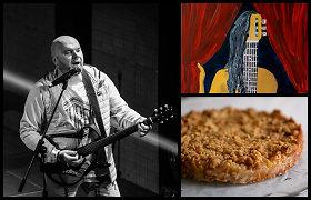 """Legendinių """"16Hz"""" galėjo ir nebūti: grupės vokalistas P.Jucevičius – apie kulinariją ir užslėptus talentus"""