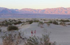 T&G klajonės Amerikoje: kaip šalome karščiausioje JAV vietoje – Mirties slėnyje