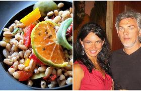 """Vakarienė pas Jurgą ir Paulių. Itališka speltos """"insalata"""": kai skonis nesipyksta su sveikata"""