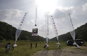 Balionais į Šiaurės Korėją nešama tikra informacija