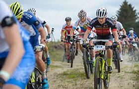 Pasaulio orientavimosi sporto kalnų dviračiais čempionate – iš rankų paleistas medalis