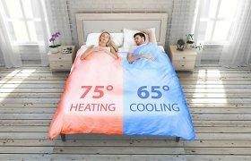 Naujoviška patalynė: pati pakloja lovą ir palaiko norimą temperatūrą
