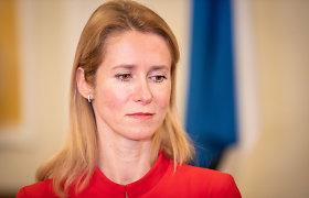 Estijos parlamentas suteikė Kajai Kallas įgaliojimus formuoti vyriausybę