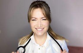 """Dermatologijos rezidentė V.Kurtinaitytė: """"Kartais aiškinantis aknės sukėlimo priežastis jautiesi lyg minų lauke"""""""