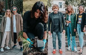 Save iš naujo atradusi R.Mikailionytė pristatė Rūdninkų skvero rožynus: įvertino ir žinomi žmonės