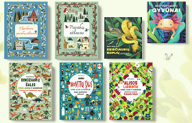 Knygų naujienos vaikams: kupinos spalvingų iliustracijų ir įsimintinų nuotykių