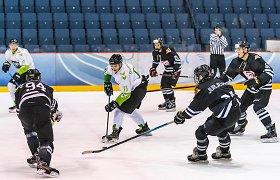 """Muštynėmis pažymėtoje lyderių akistatoje – solidi """"Kaunas Hockey"""" pergalė"""
