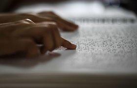 Kam buvo naudojamos pirmosios Brailio rašto užuomazgos?