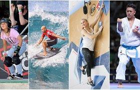 Atkreipkite dėmesį: olimpinėse žaidynėse išvysite 5 naujas sporto šakas