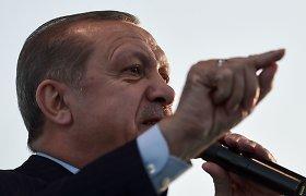 R.T.Erdoganas: Vokietija neišgąsdins Turkijos grasinimais