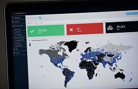 """Skaitmeniniai virusologai prognozuoja """"WannaCry"""" pandemijos pasikartojimą"""