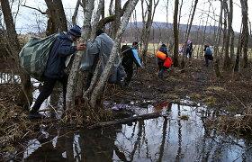 ES smerkia migrantų gyvenimo sąlygas Bosnijoje