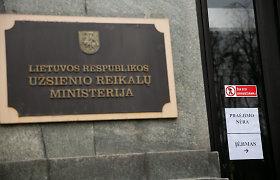 Į Užsienio reikalų ministeriją iškviestas Kinijos ambasadorius Lietuvoje