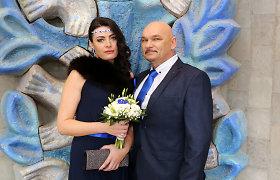 Arvydas Vilčinskas skiriasi su 29 metais jaunesne žmona Rūta – byra jau ketvirtoji santuoka