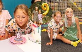 I.Stonkuvienės dukrai Cecilijai suėjo 9-eri: gimtadienio siurprizas atėmė žadą