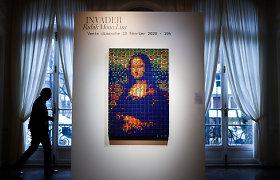 """Paryžiaus aukcione bus parduodama iš Rubiko kubų sukurta """"Mona Lisa"""""""