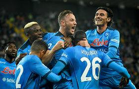 """Italijos futbolo čempionate – """"Napoli"""" klubo vienvaldystė"""