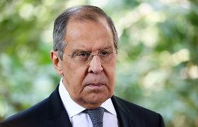 JT Generalinės Asamblėjos kuluaruose planuojamas JK ir Rusijos URM vadovų susitikimas